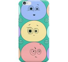 Flat smiles texture iPhone Case/Skin