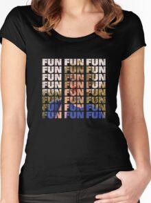 Kazoo Kid FUN Women's Fitted Scoop T-Shirt