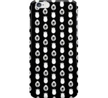 Alien Eggs- Black and White iPhone Case/Skin