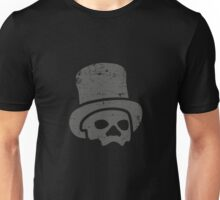 Voodoo 2 - Grey on Black Unisex T-Shirt