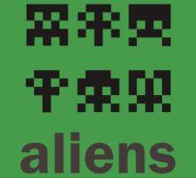 aliens by Lemaja