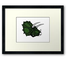Triceratops II Framed Print