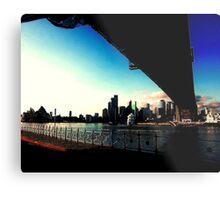 Sydney Under the bridge Metal Print
