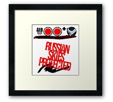 Russian Skies Protected Framed Print