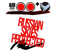 Russian Skies Protected Photographic Print