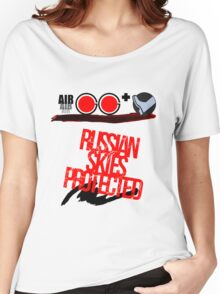Russian Skies Protected Women's Relaxed Fit T-Shirt