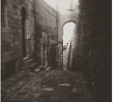 Old Street w/ Arch Photographic Print