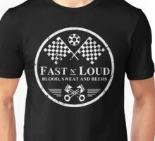 Fast and Loud, Inspired Gas Monkey. White. Unisex T-Shirt