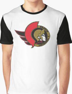 Senators Skull Logo Graphic T-Shirt