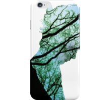 Forest for the trees iPhone Case/Skin