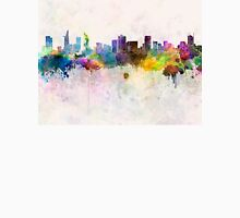 Ho Chi Minh skyline in watercolor background Unisex T-Shirt