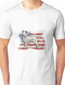 American Canine Vector Secondary Unisex T-Shirt