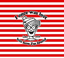 I once was lost Waldo by mariatorg