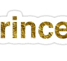 Princess | Golden Sticker