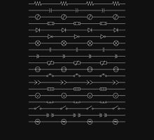 Circuit Symbols Tee Unisex T-Shirt