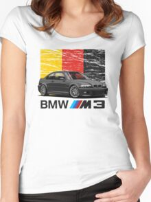 BMW M3 E46 Women's Fitted Scoop T-Shirt