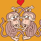 Monkeys Eating Lice and Falling in Love by Zoo-co
