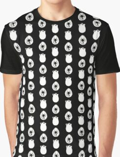 Alien Eggs- Black and White Graphic T-Shirt