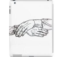 hands 1 iPad Case/Skin