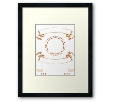 Mechanic Curious Enough To Take It Apart Skilled Enough to Put It Back Together Framed Print