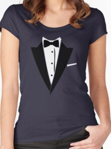 Hilarious Tuxedo2 Women's Fitted Scoop T-Shirt