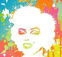 Marilyn Monroe 4 by sebinlondon