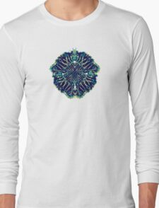 Abstract Palms Long Sleeve T-Shirt