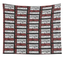 Obsessive, compulsive, knitting disorder Wall Tapestry