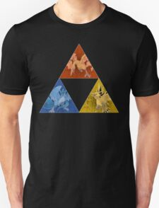 Pokemon Triforce - Moltres, Zapdos, Articuno  T-Shirt