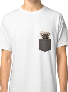 pug in my pocket  Classic T-Shirt