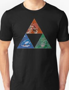 Pokemon Triforce - Rayquasa, Groudon, Kyogre T-Shirt