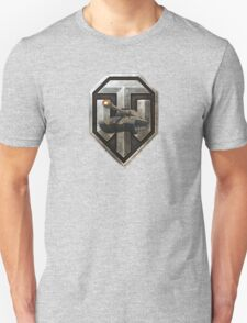 World of Tanks (WoT) with a Russian IS-3 Tank inside the logo T-Shirt