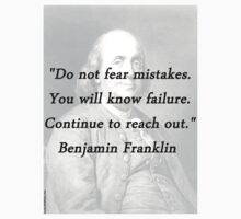 Franklin - Mistakes Baby Tee