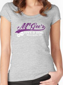McGee's Five and Dime Women's Fitted Scoop T-Shirt