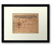 Our Life's Direction Framed Print