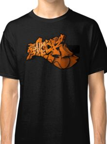 Graffiti SHOCK 3D (Orange) Classic T-Shirt