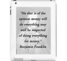Franklin - Money iPad Case/Skin
