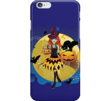 Witch and Full Moon 3 iPhone Case/Skin