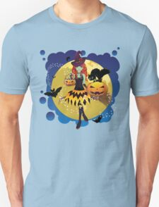 Witch and Full Moon 3 T-Shirt