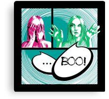 Boo comics Canvas Print