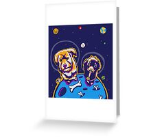 Crater Dogs Greeting Card