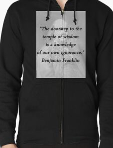 Franklin - Temple of Wisdom T-Shirt