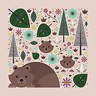 Wild Bears  by CarlyWatts