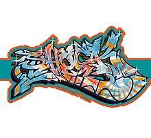 Graffiti SHOCK (Org. Color) Photographic Print