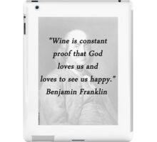 Franklin - Wine iPad Case/Skin
