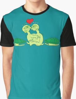 Naked Turtles Making Love Graphic T-Shirt