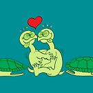 Naked Turtles Making Love by Zoo-co