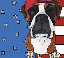 USA Boxer by StephanieGerace