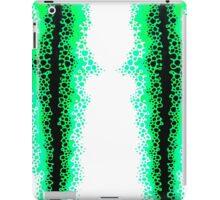 Green Alien Raver iPad Case/Skin