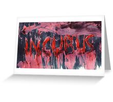 INCUBUS | Nightmare Greeting Card